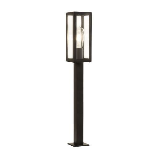 Box Outdoor 1 Light Rectangle Head Post (90Cm Height), Black 6441-900Bk
